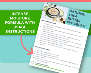 Step by step instructions to make diy eye cream for dark circles