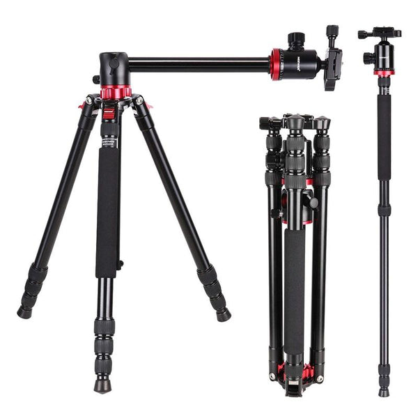 best flat lay tripod for camera with rotating center column