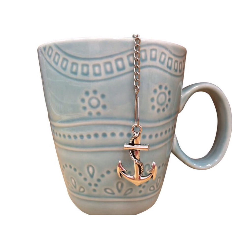 Mermaid Anchor Mesh Ball Tea Infuser - Beach Babe Tea