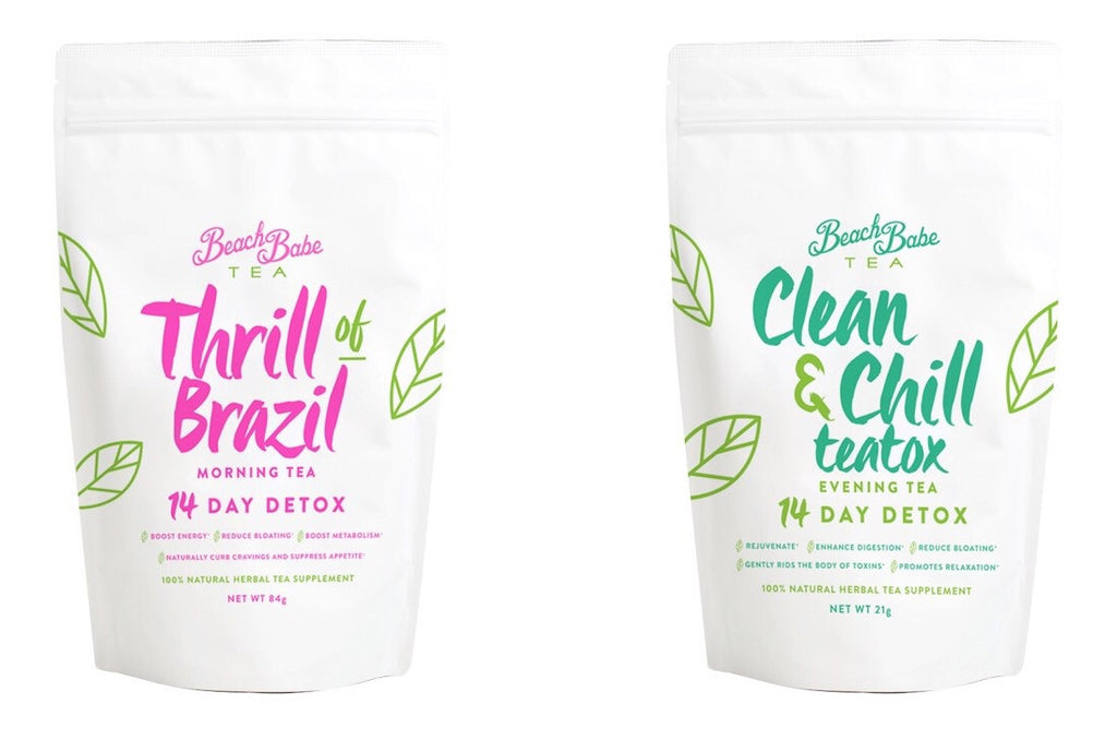 Beach Babe Detox (mini) Pack -14 Days - Beach Babe Tea