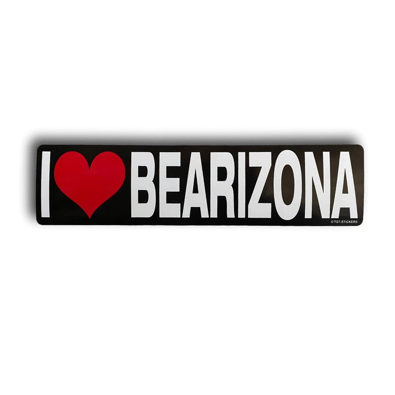 I Heart Bearizona Bumper Sticker