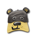 Bearizona 3D Black Bear Face Youth Hat