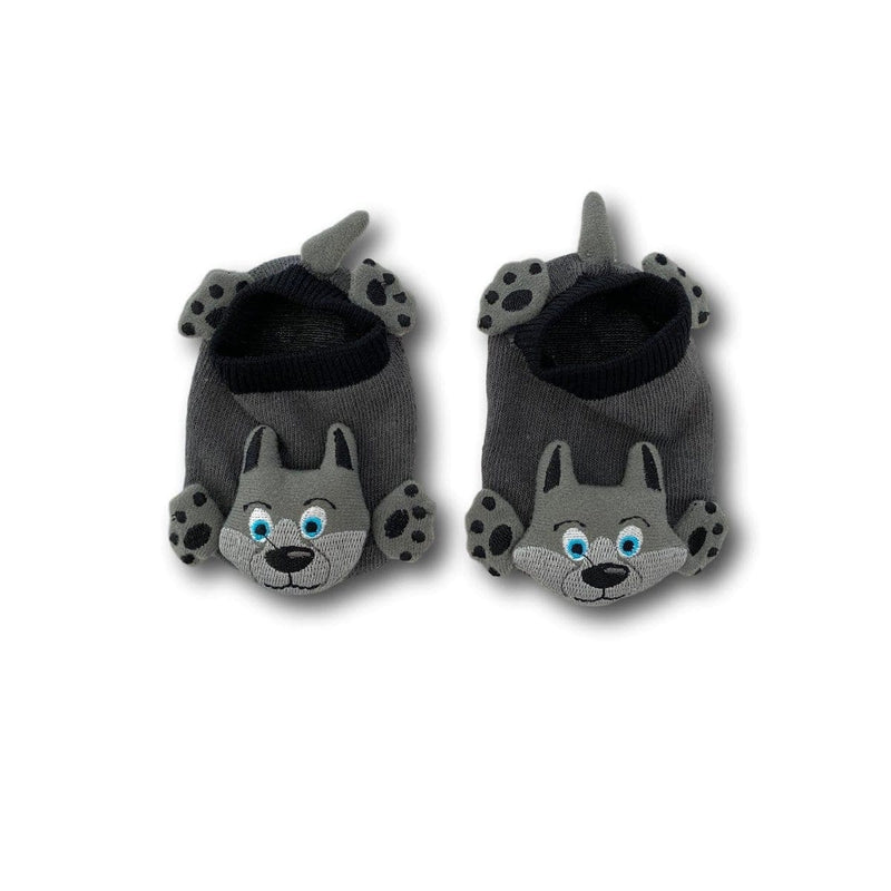 Wolf Face Baby Socks