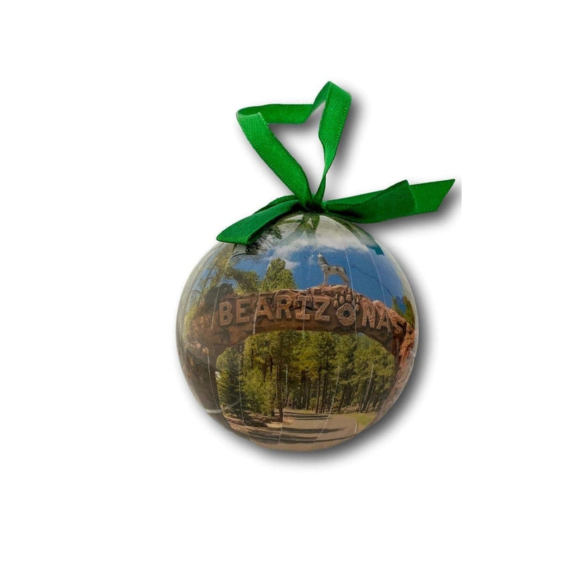 Shop Bearizona Bearizona Arch Ball Ornament