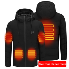 zones chauffante technologie the cool mind manteau chauffant tamere clothing