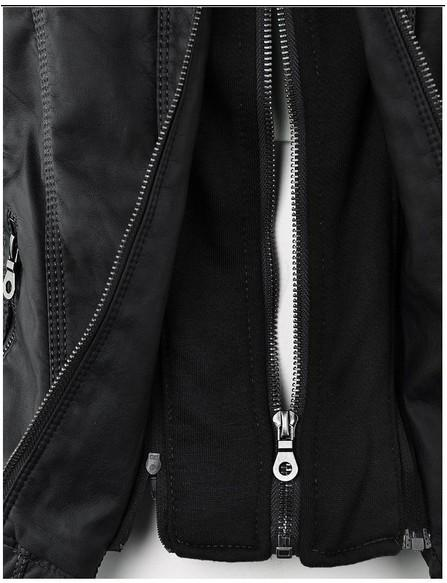 Veste Cuir Tendance Black - The Cool Mind