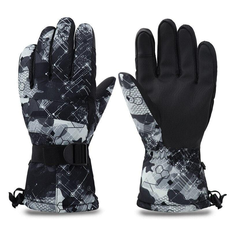 Winter Gloves Snow - The Cool Mind