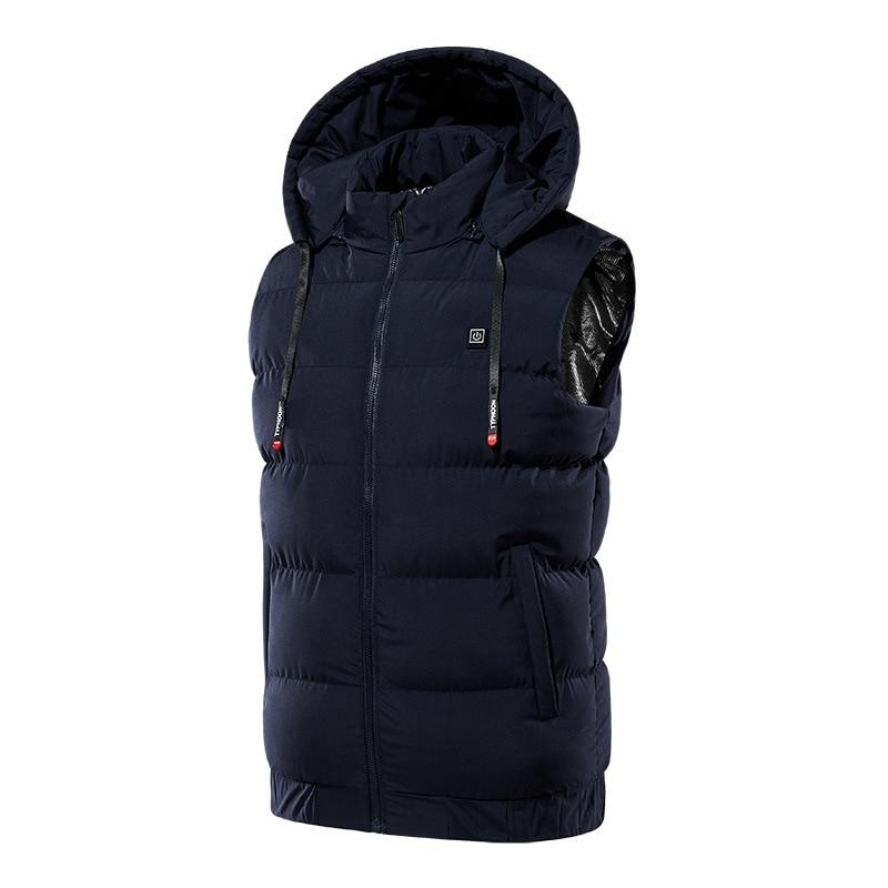 Heated Jacket Outdoor with hood - The Cool Mind
