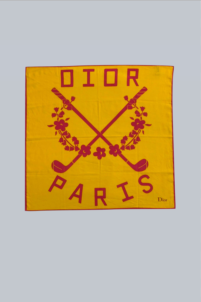 CHRISTIAN DIOR PARIS SCARF