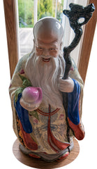 chinese figurine peach