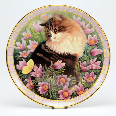 Decorative Cat Plate, DM  Simpkin