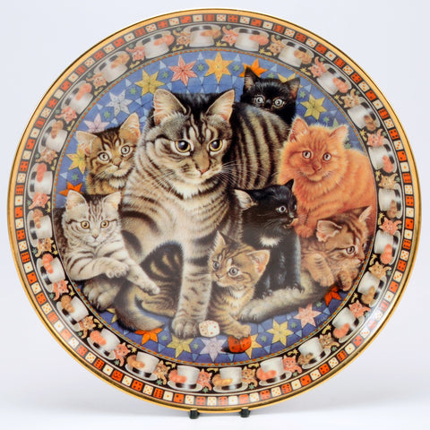 Decorative Cat Plate, DM  Muppet