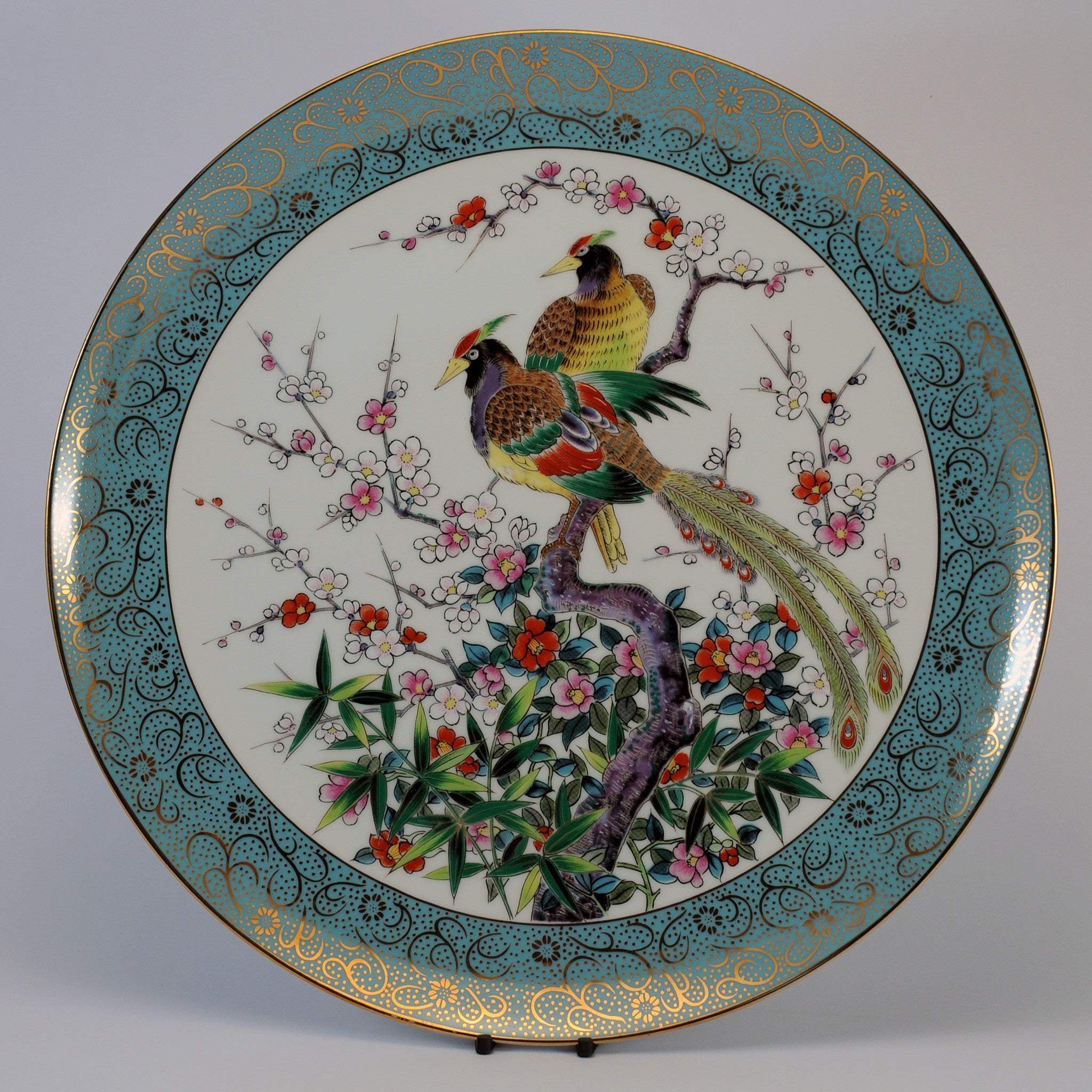 chinese decorative blue peacock plate & chinese decorative blue peacock plate \u2013 Katoomie