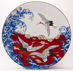 Sold · Japanese Birds at sea decorative plate  sc 1 st  Katoomie & Decorative plates u2013 Katoomie