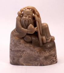 chinese soapstone carving immortal