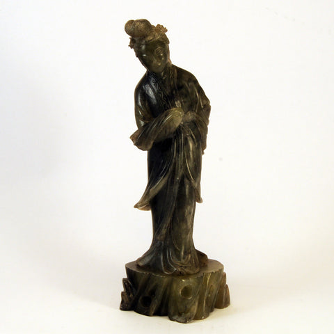 chinese soapstone green lady 1