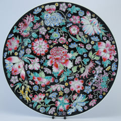 Zhongguo Jingdezhen Decorative plate flowers