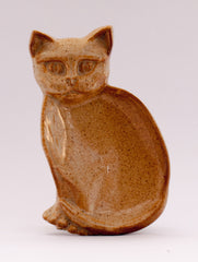 pottery cat dish 250