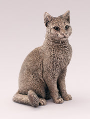 sterling silver hallmarked cat figurine
