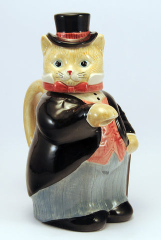 Takahashi cat teapot japan