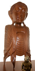 Buddha Carving Head and Torso