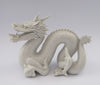 white porcelain figurine blanc de chine dragon