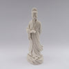 white porcelain figurine blanc de chine man book