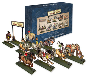 Norman Thelwell - Ornamental Wood Cut Display
