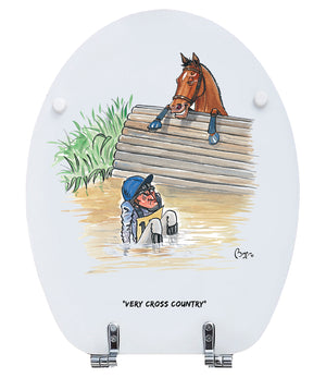 Equestrian - Bryn Parry - Toilet Seat.