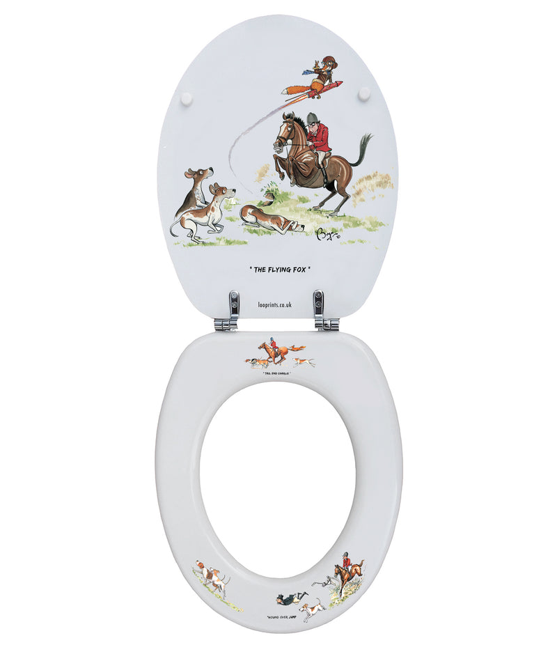 The Flying Squad - Bryn Parry - Toilet Seat.