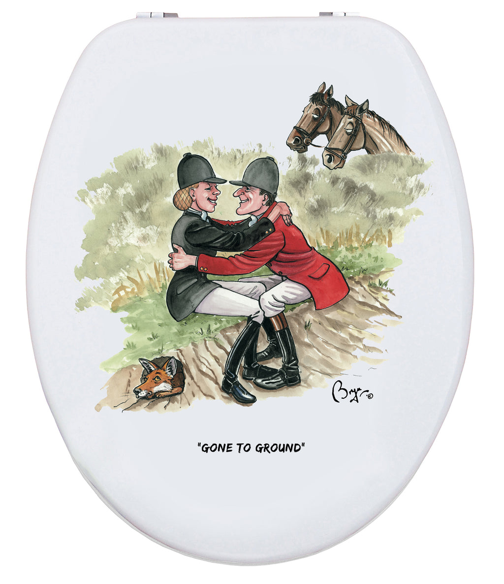Gone To Ground - Bryn Parry - Toilet Seat.