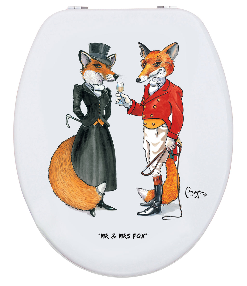 Mr & Mrs Fox - Bryn Parry - Toilet Seat - Coming Soon