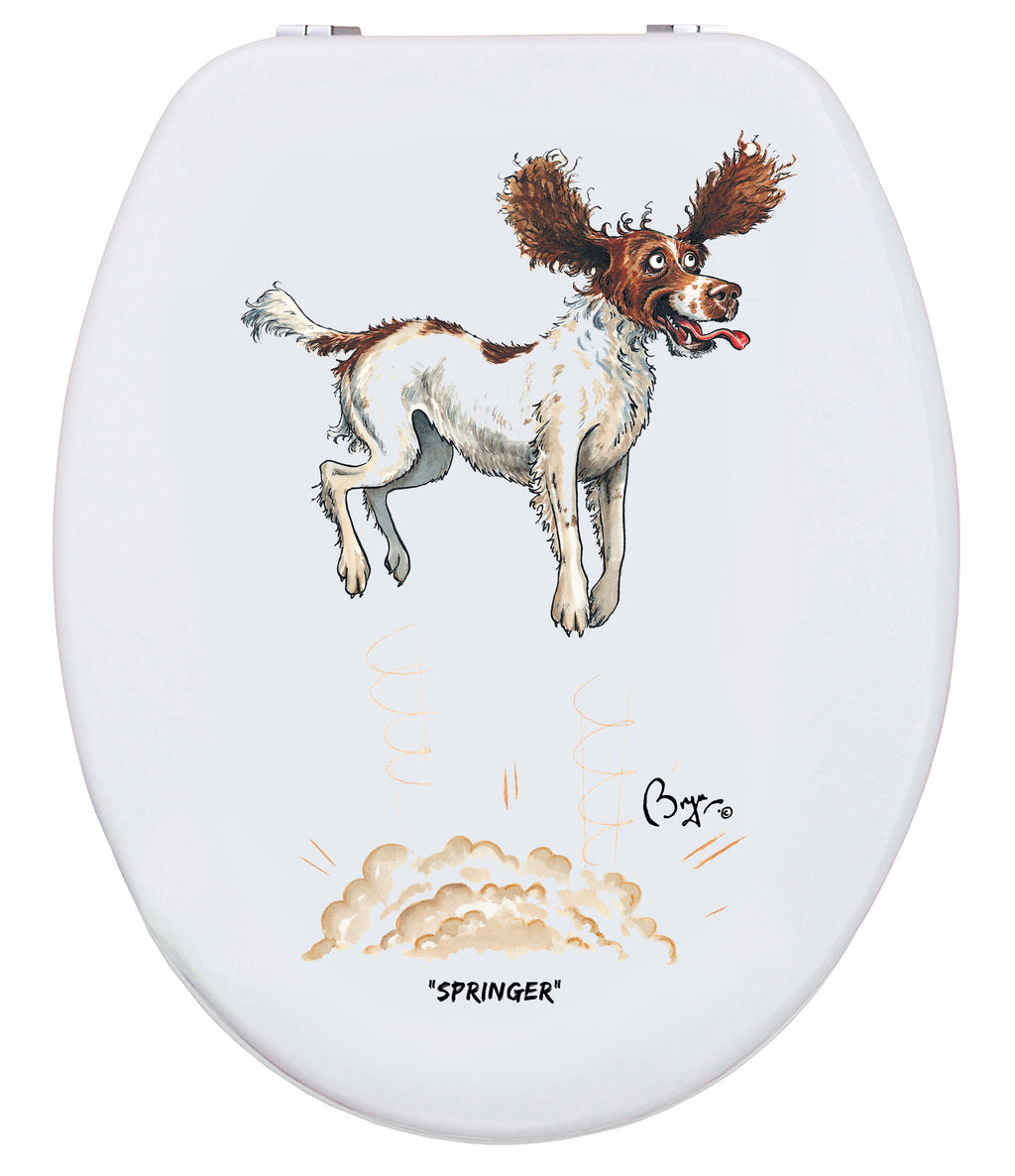 Springer - Bryn Parry- Toilet Seat.