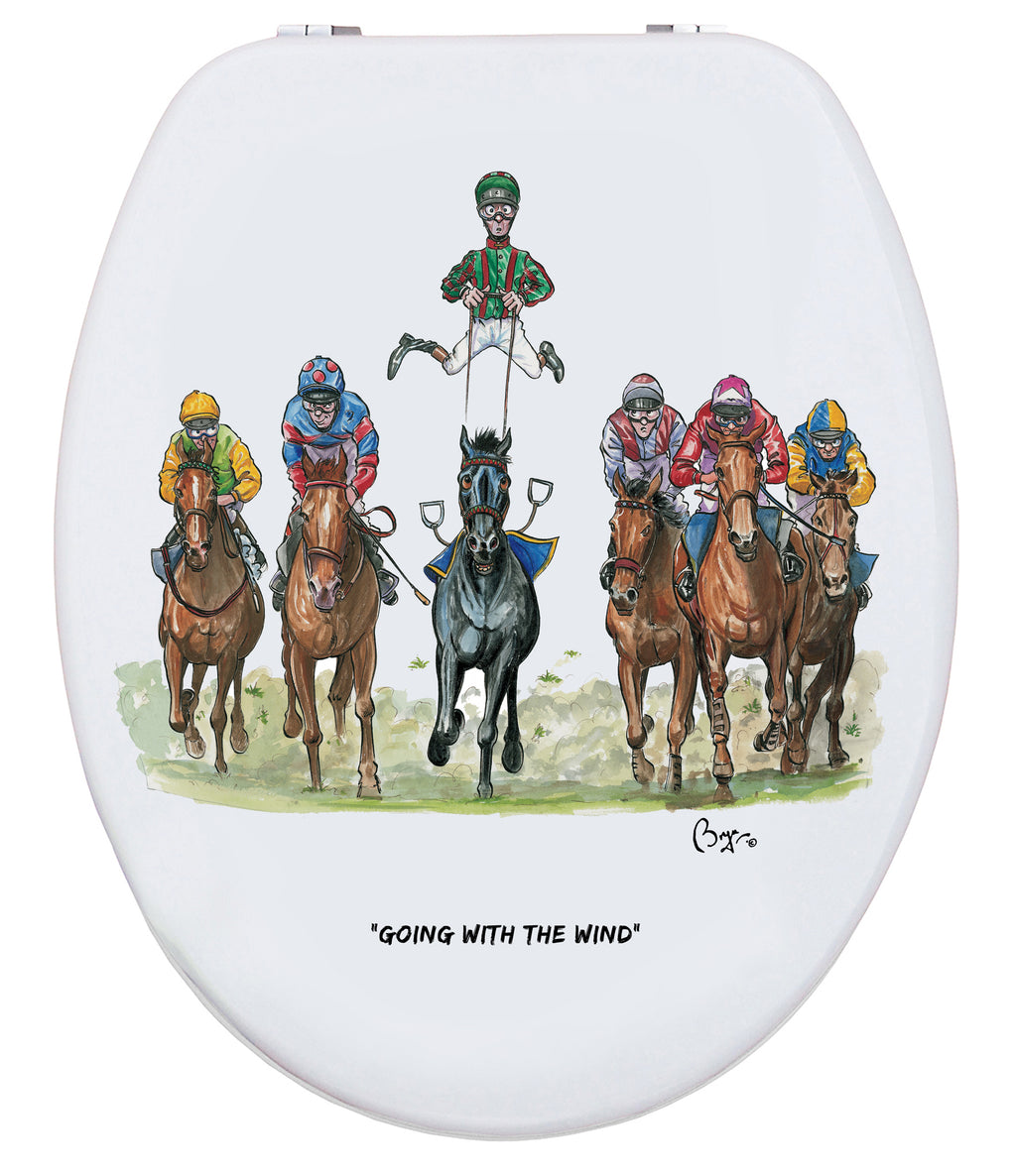 The Turf Club - Bryn Parry - Toilet Seat.