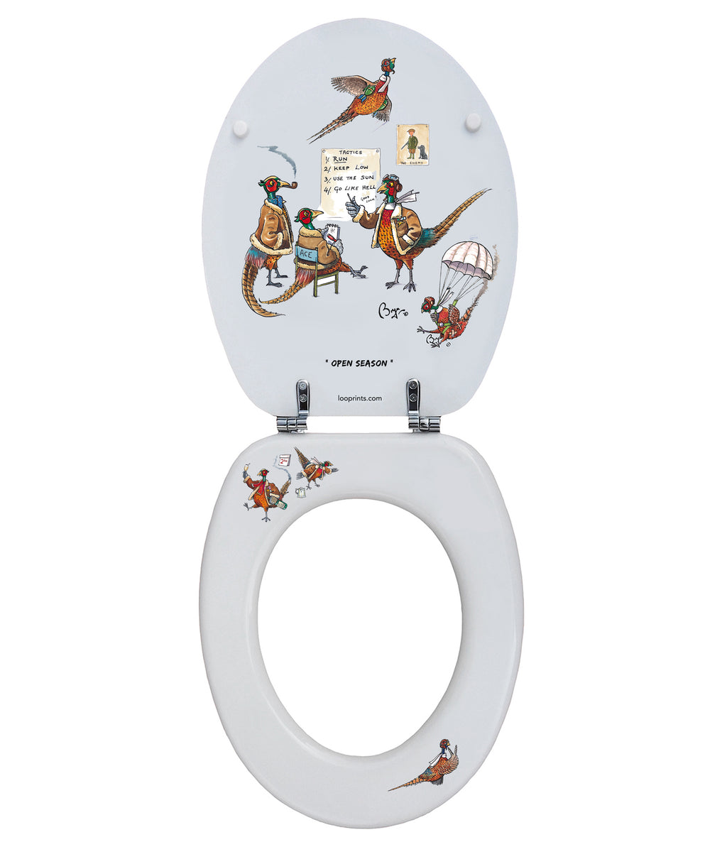 The Veteran Pheasant - Bryn Parry- Toilet Seat - Coming Soon