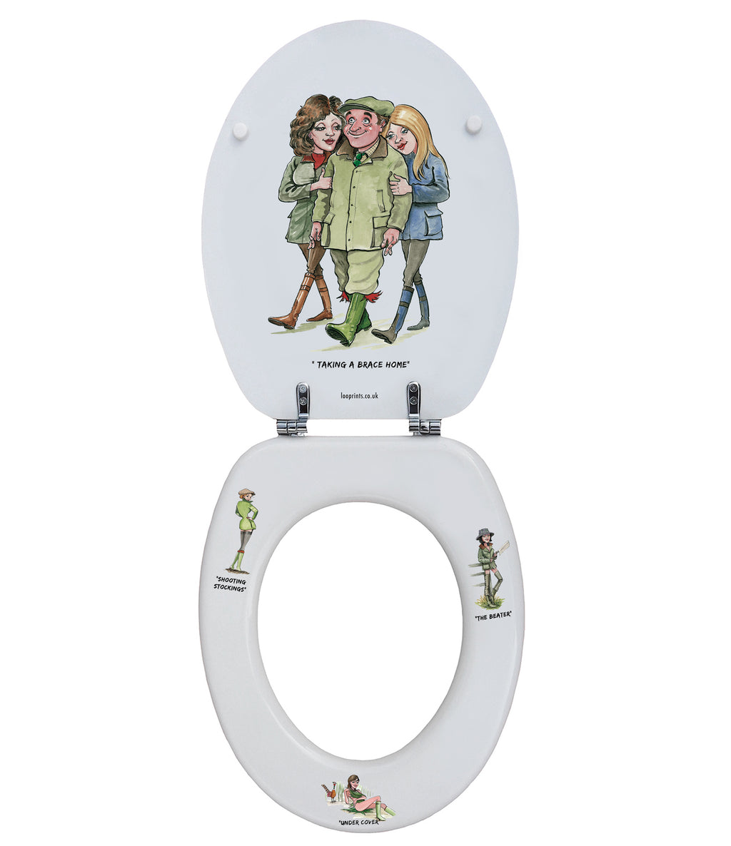 Flushed Bird - Bryn Parry- Toilet Seat.