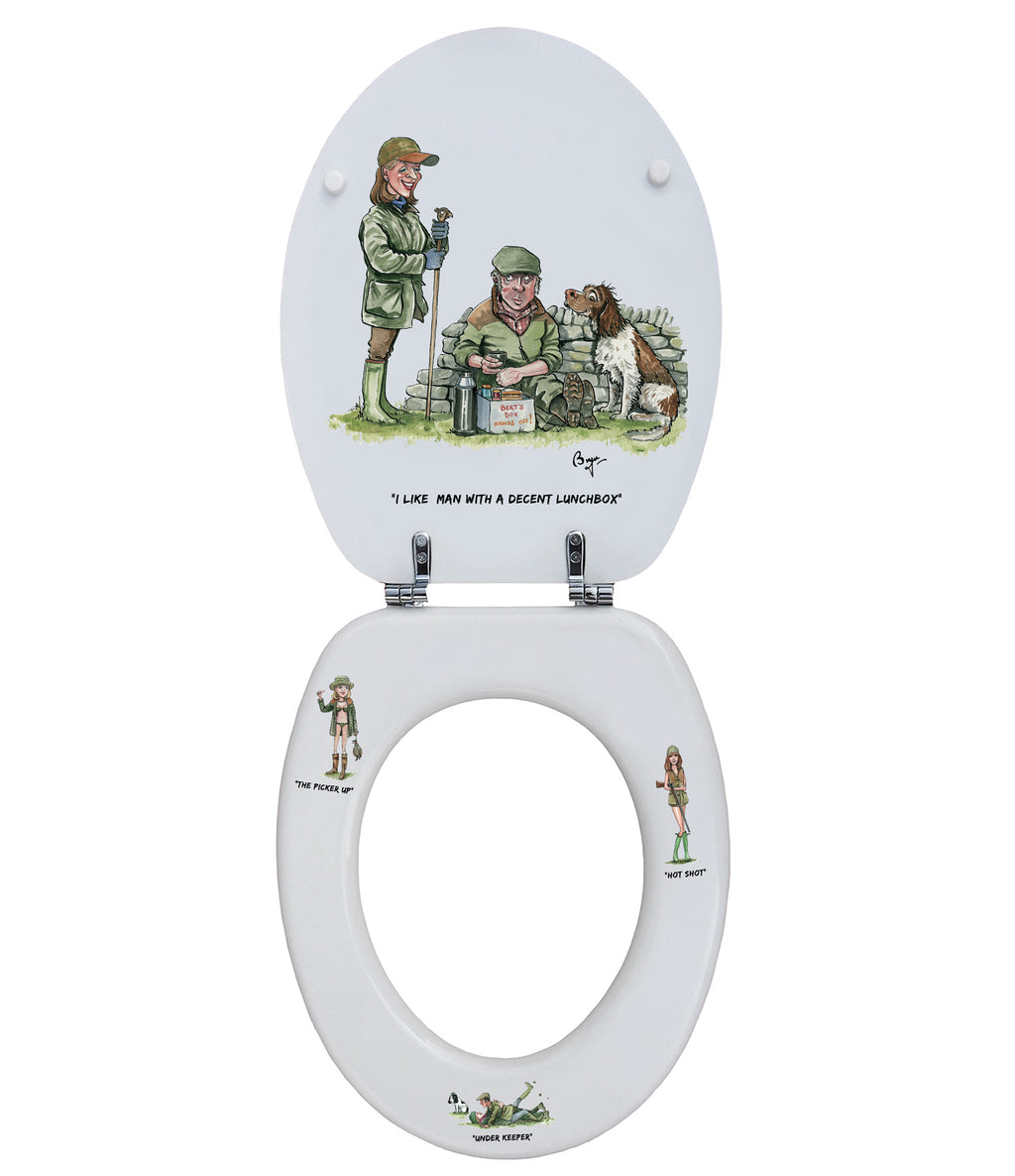 Matched Pair - Bryn Parry- Toilet Seat.