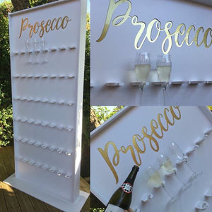 Prosecco Wall Hire