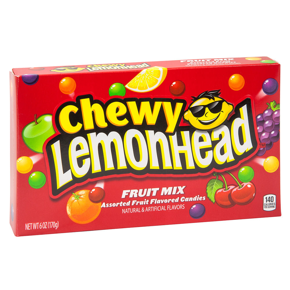 Chewy Lemon Head fruit mix