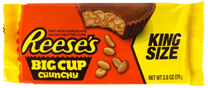 Reeses peanut butter (Big cup Crunchy)