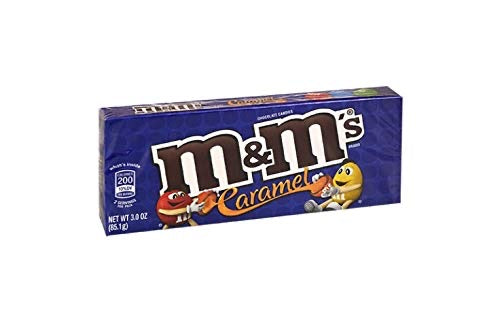 M&M caramel Theatre Box