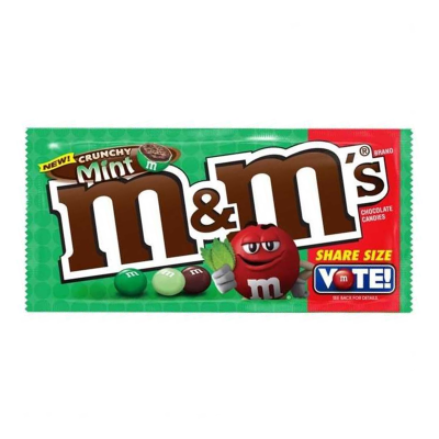 M&M mint flavour (share size bag)