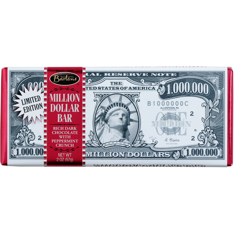Million Dollar Bar Dark Chocolate Mint