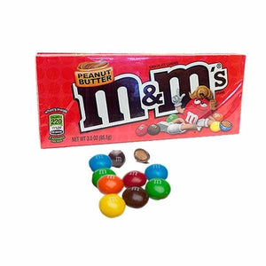 M&M Peanut Butter Theatre Box