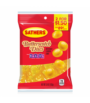 Sathers Butterscotch Discs 3.6oz (102g) -