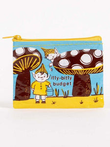 Itty-Bitty Budget Coin Purse - Gazebogifts