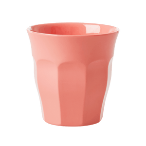 Medium Melamine Cup, True Coral - Gazebogifts