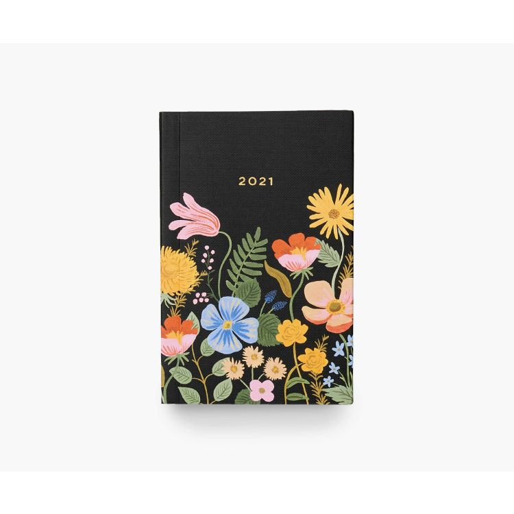 Rifle Paper Co. Strawberry Fields 2021 12-Month Pocket Planner - Gazebogifts