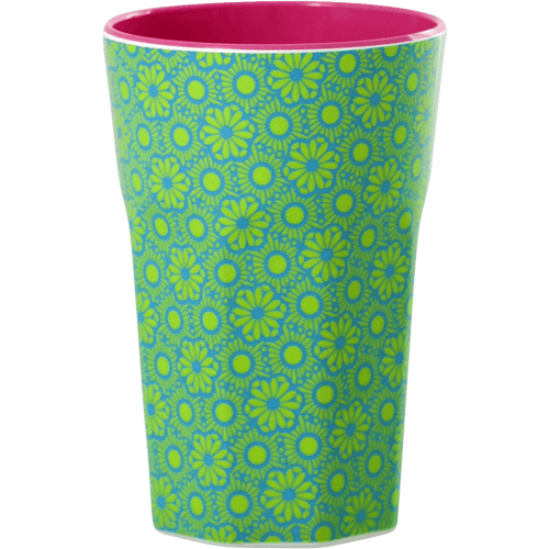 Tall Melamine Latte Cup, Marrakesh Print - Gazebogifts