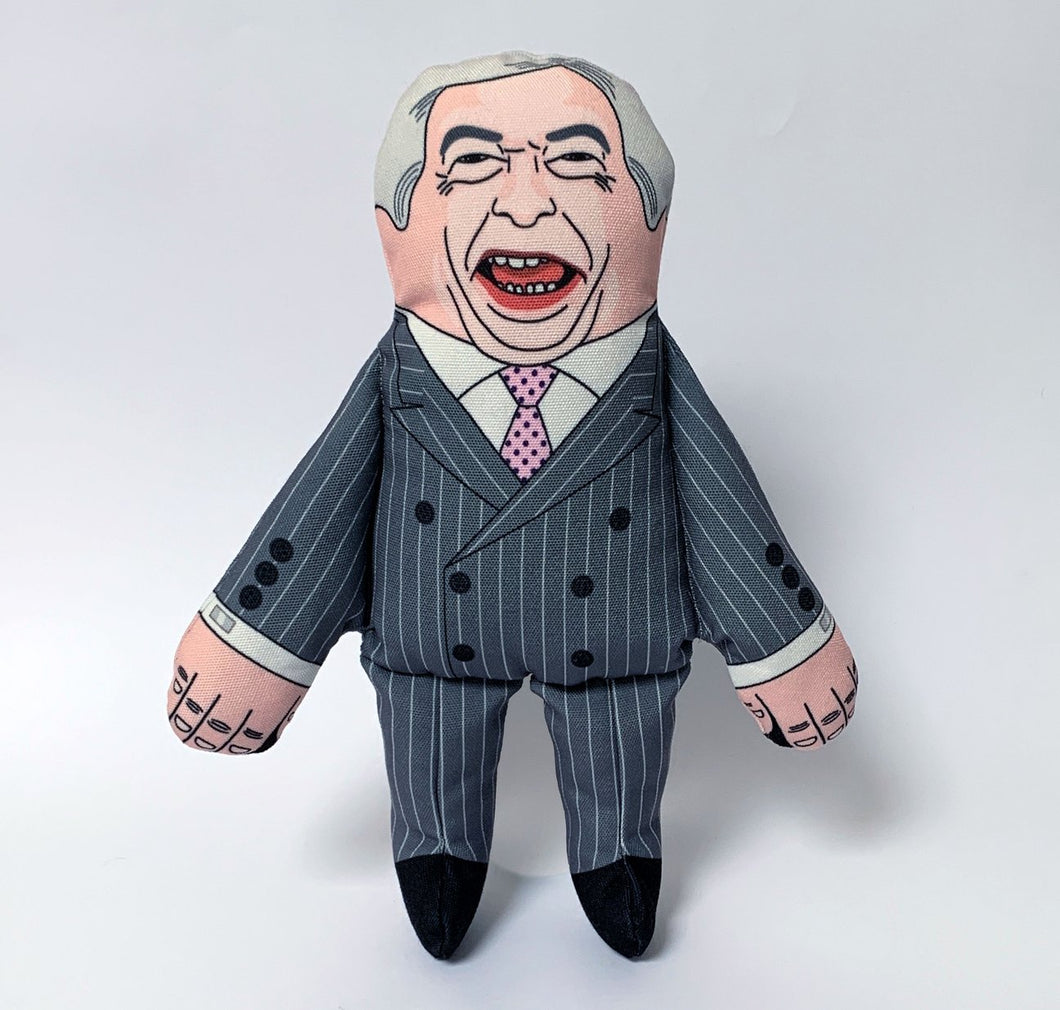 Nigel Farage Dog Toy - Gazebogifts
